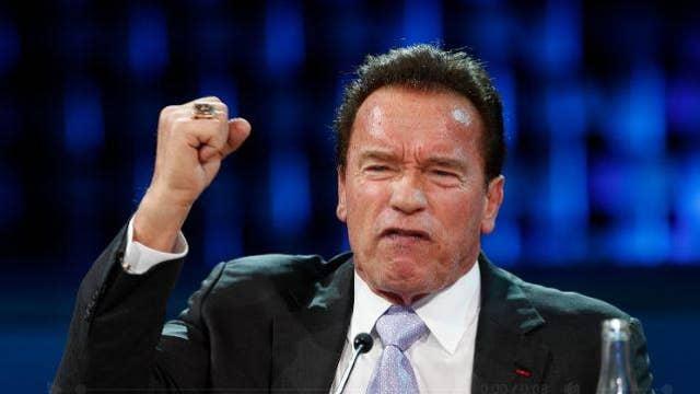 Arnold Schwarzenegger fires back at President Donald Trump for his attacks on the late Senator John McCain