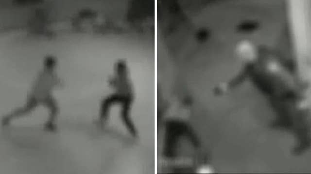 Video released of skating rink brawl shows cop use Taser on teen