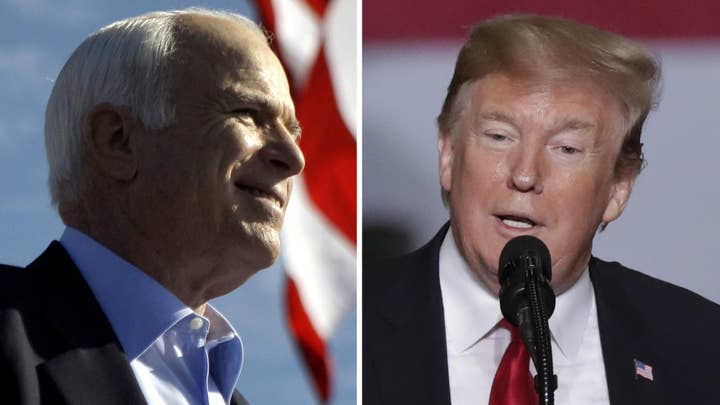 Trump continues to criticize McCain after bipartisan criticism