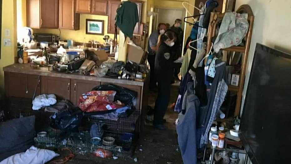 96-year-old man found living in inhumane conditions after neighbors reported the 'house of horrors'