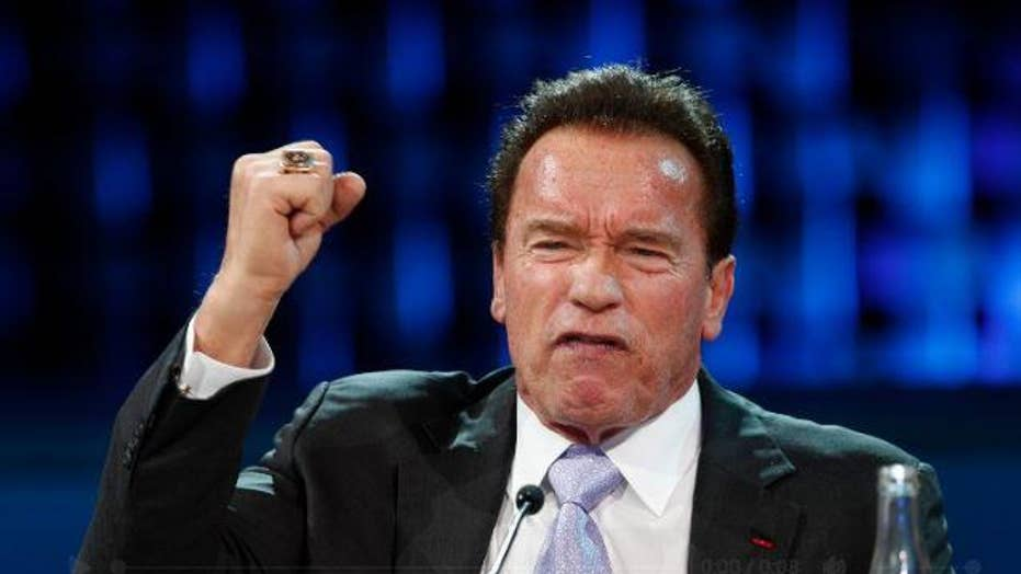 Arnold Schwarzenegger fires back at President Donald Trump for his attacks on the late Senator John McCain