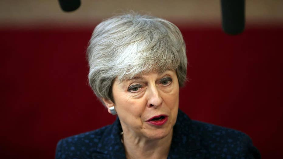British PM Theresa May faces backlash after blaming lawmakers for Brexit crisis