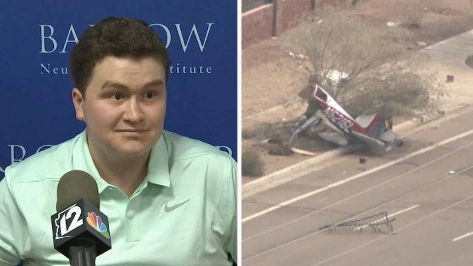 Plane crash victim survives traumatic brain injury