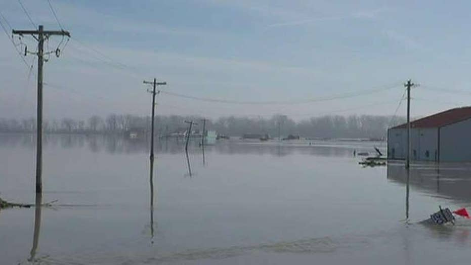 NOAA: Historic Midwest flooding could continue by May