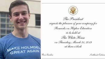 Teen who claims Trump support cost him entry into National Honor Society gets invite to White House
