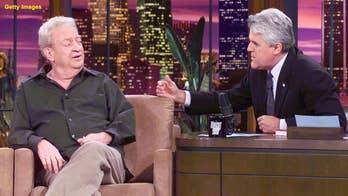 Jay Leno recalls Rodney Dangerfield's mini-stroke scare, talks cholesterol awareness