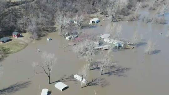 Fox News drone footage reveals staggering extent of Midwest flooding