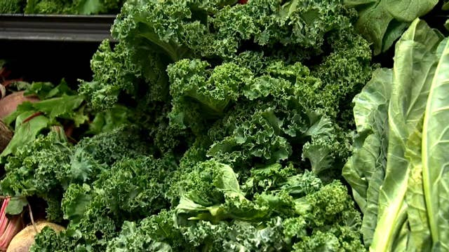 Kale joins 'dirty dozen' list of foods containing pesticides