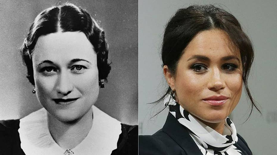 Before Meghan Markle, American Duchess Wallis Simpson endured recoil 'by a press and public,' book claims