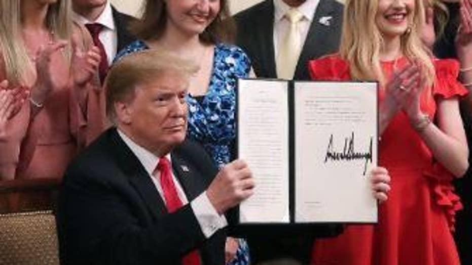 NBC, ABC, CBS evening newscasts ignore Trump's executive