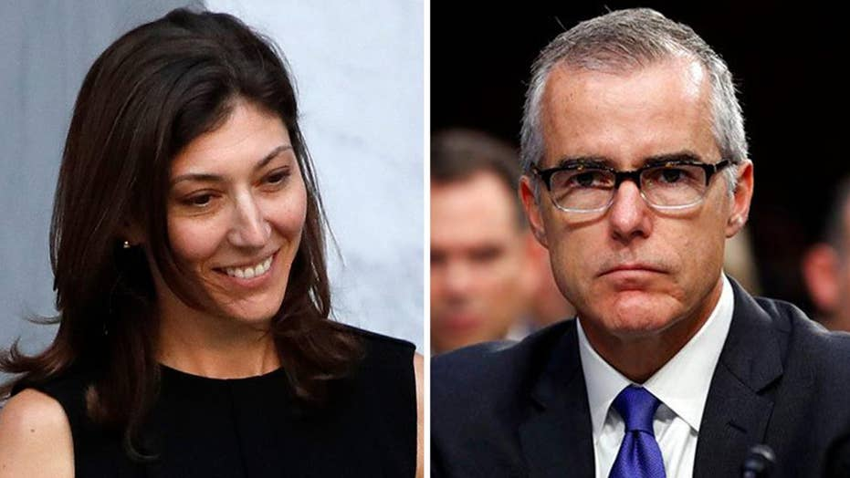 Newly obtained texts between Andrew McCabe and Lisa Page reveal that they mocked President Trump
