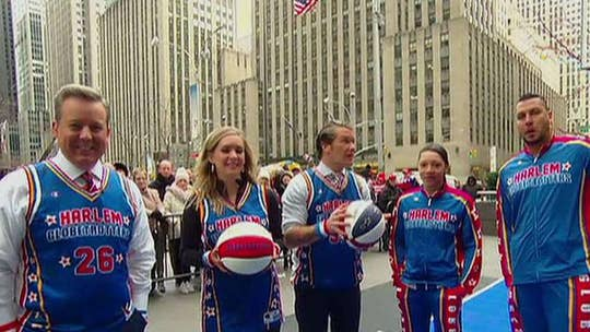 March Madness: The Harlem Globetrotters show off their skills