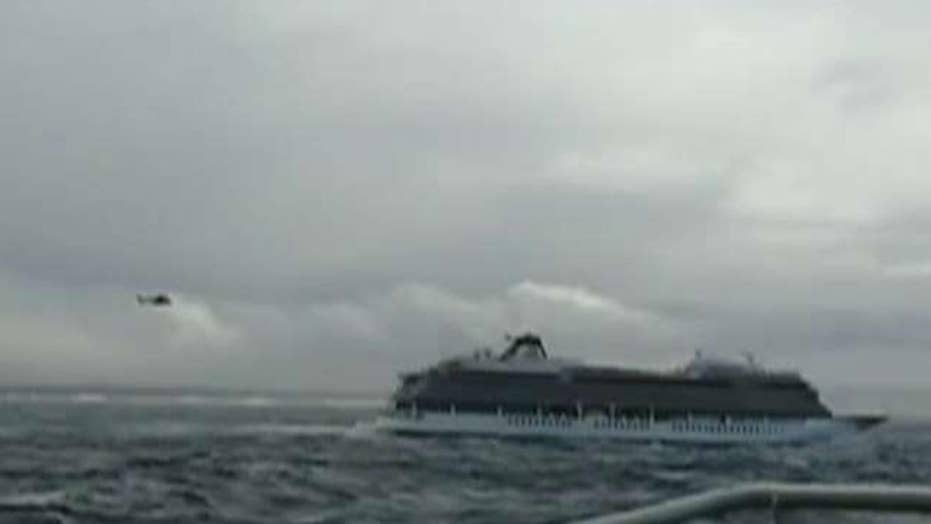 Helicopters needed to evacuate cruise ship off the coast of Norway