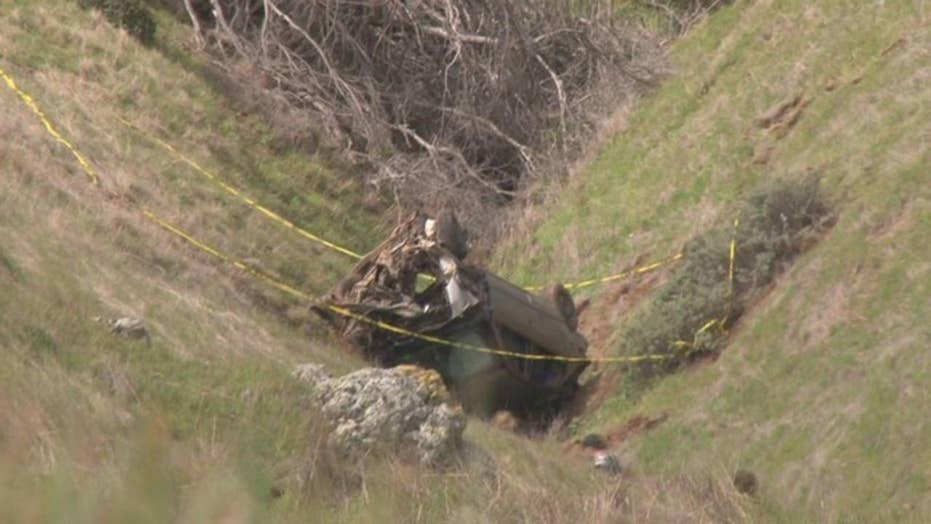 California driver killed after vehicle goes off cliff