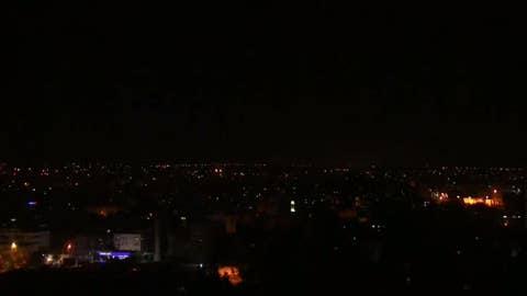 WATCH: New rocket fire over Gaza Strip