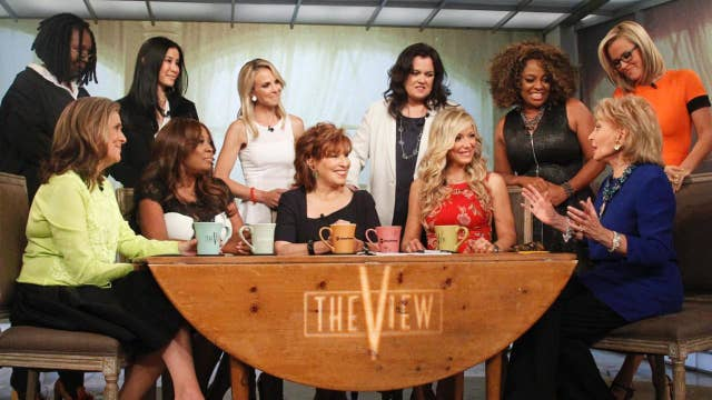 Rosie O'Donnell says she had a 'crush' on 'The View' co-host Elisabeth Hasselbeck