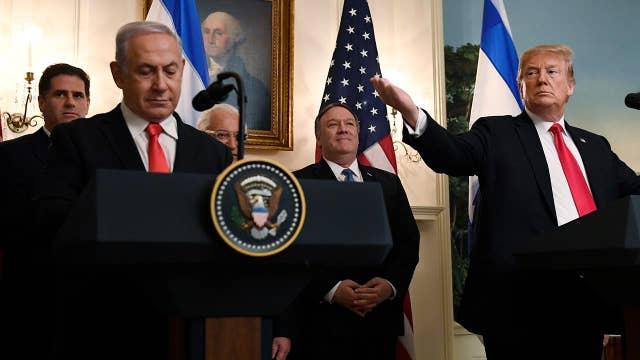 Trump, Netanyahu condemn 'despicable' Hamas rocket attack on Israel