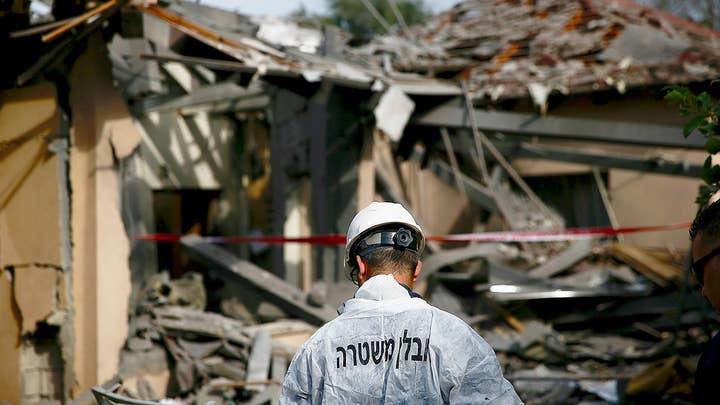Israel strike targets in Gaza in retaliation for Hamas rocket attack