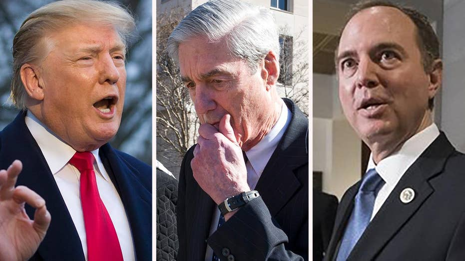 Trump re-election campaign pounces on Mueller report, slams Democrats' claims of collusion