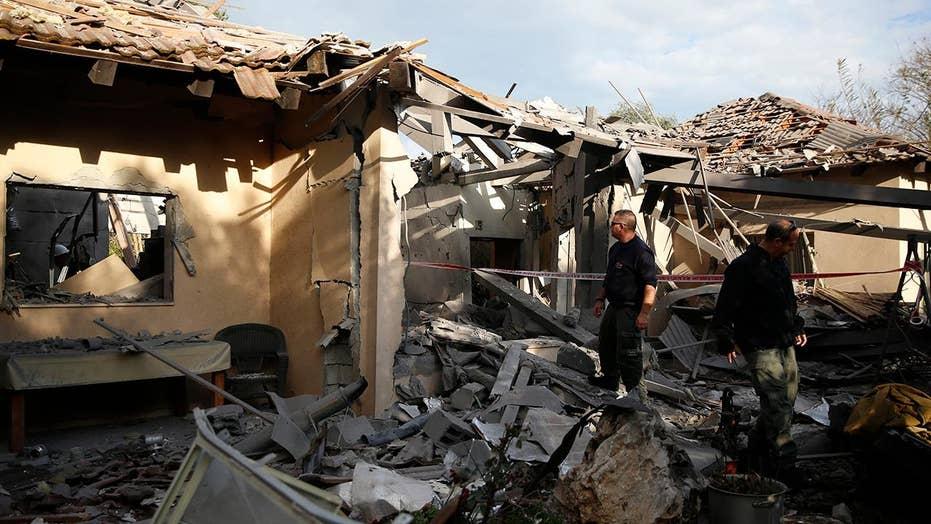 Image result for gaza rocket attack