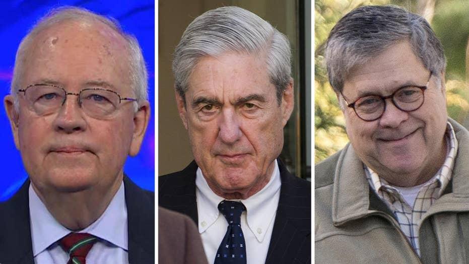Ken Starr grades Mueller, Barr on the Russia investigation