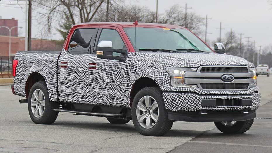 Electric Ford F-150 spotted with independent rear ...