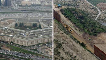 Pentagon authorizes up to $1B to start 57 miles of border wall construction
