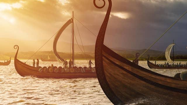 Amazing Viking longship discovery: Radar reveals mysterious ship grave
