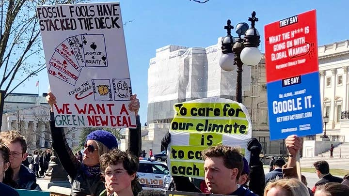 Senate majority forces vote on 'Green New Deal' climate change proposal