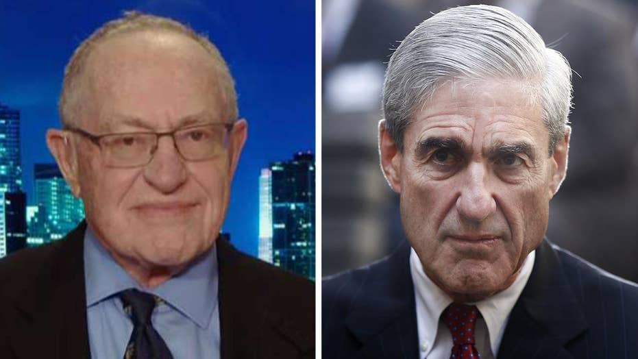 Dershowitz: Mueller was supposed to make the decision on obstruction