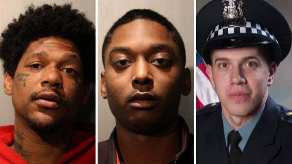 2 men arrested in murder of off-duty Chicago police officer