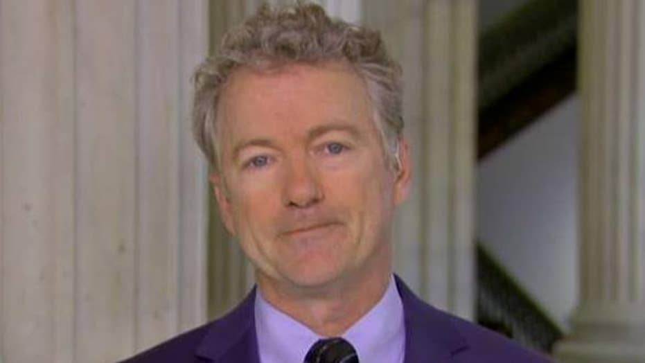 Rand Paul: Green New Deal would shut down the US economy