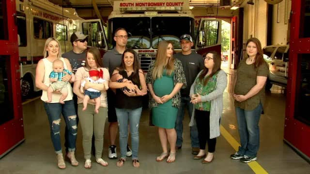 Texas fire department expects 20 babies by September