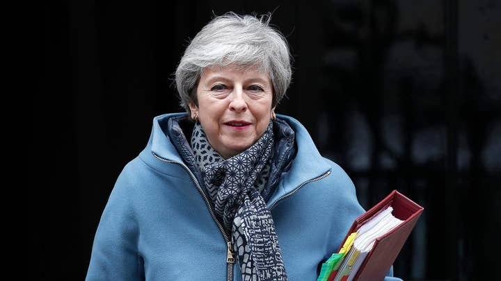British PM May offers to resign if parliament passes her Brexit deal