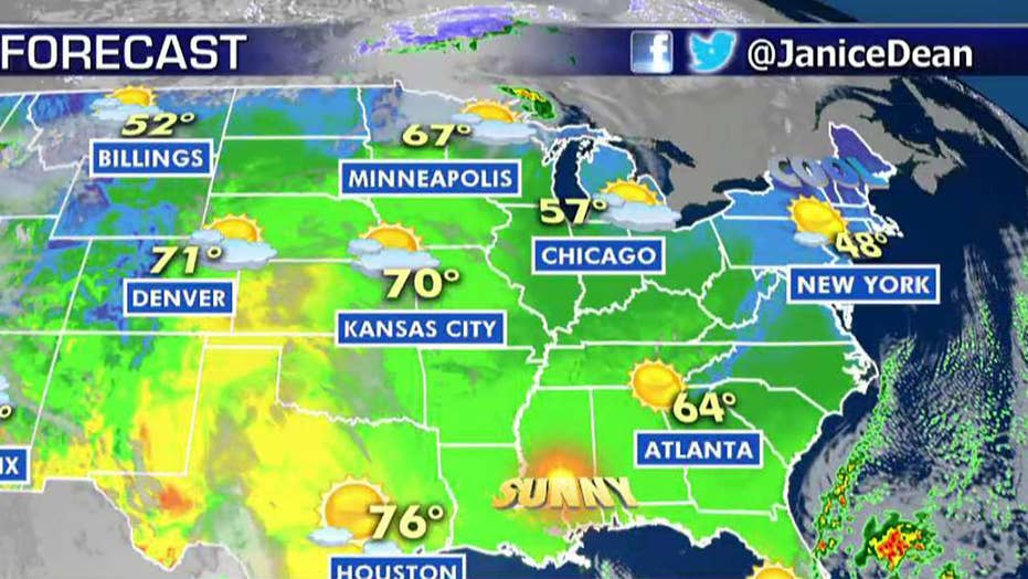 National forecast for Wednesday, March 27