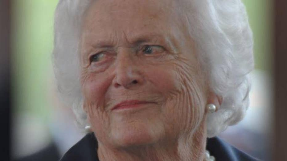 Former first lady Barbara Bush gets candid in the final months before her death