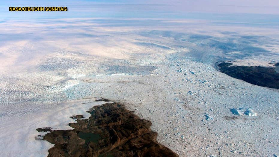 Fastest-thinning Greenland glacier actually growing thicker instead of shrinking