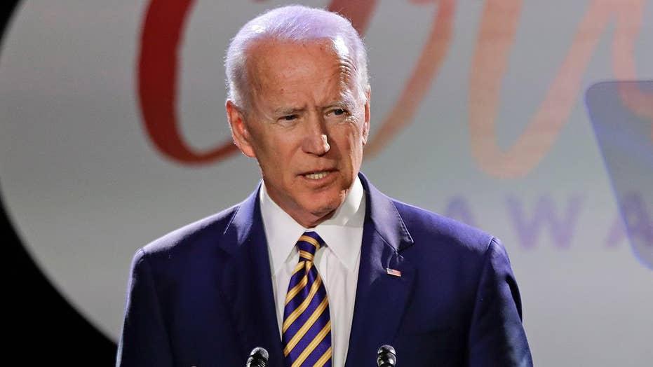 Biden apologizes for handling of 1991 Anita Hill hearings as he mulls 2020 presidential bid