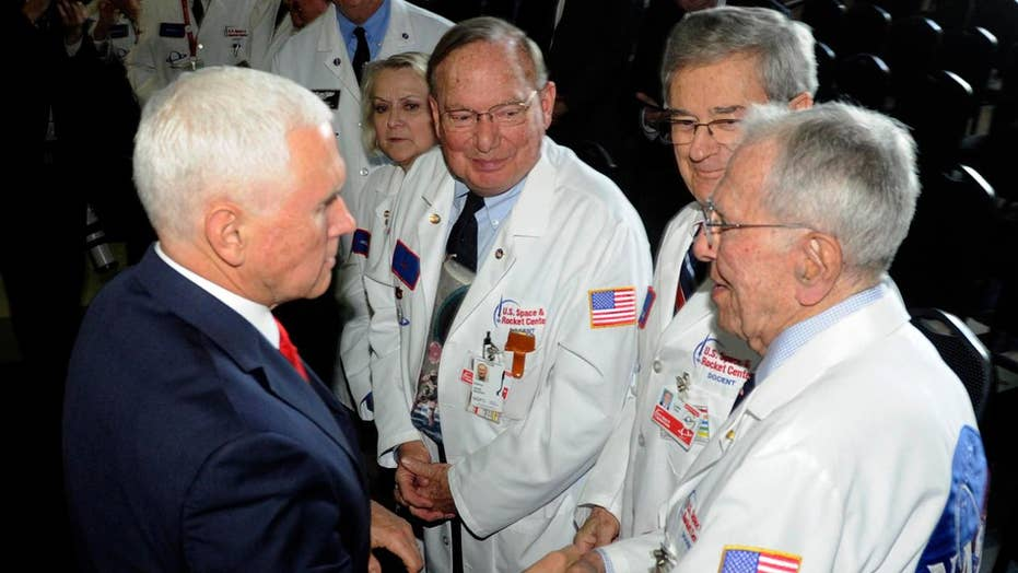 """Trump says creation of a Space Force is """"a national priority."""""""