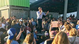 Beto O'Rourke talks immigration at formal campaign kickoff near southern border