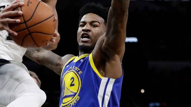 Golden State Warrior Jordan Bell was reportedly suspended because he tried to charge a purchase to an assistant coach