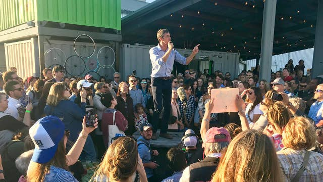 Voters shift support from other Dems to the 'Beto bandwagon'