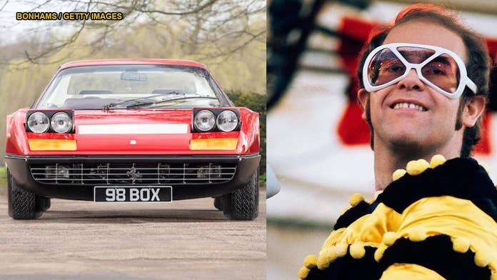 1974 Ferrari 364 GT4 BB originally owned by Elton John up for sale ahead of 'Rocketman' premiere