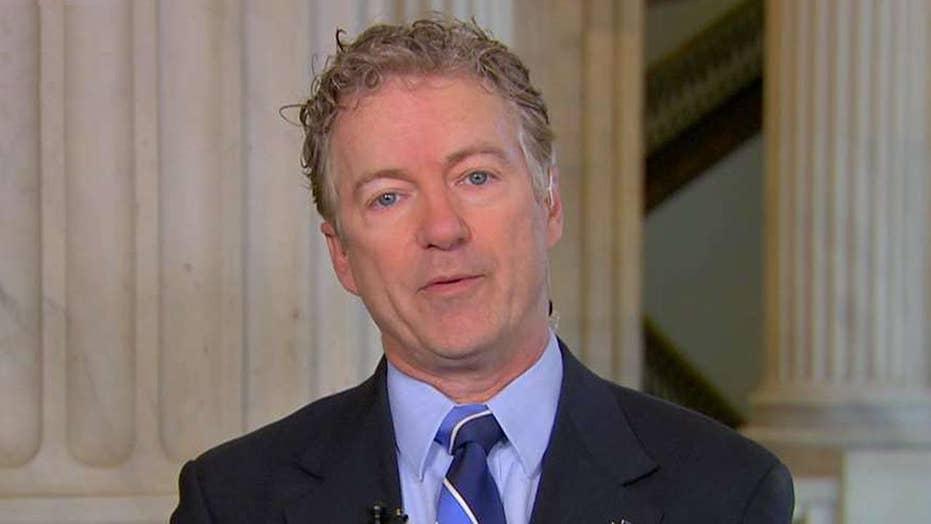 Sen. Rand Paul claims John Brennan internally pushed discredited Steele dossier