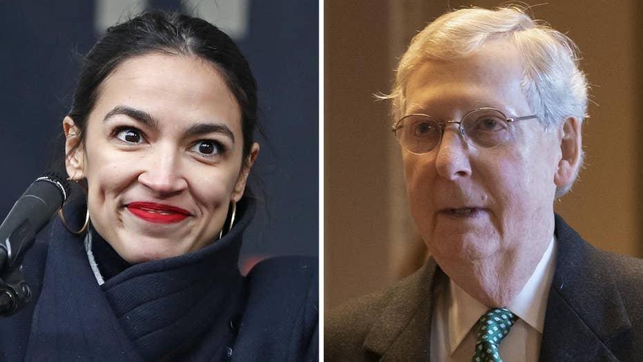 Green New Deal fails in the Senate, four Democrats vote no.