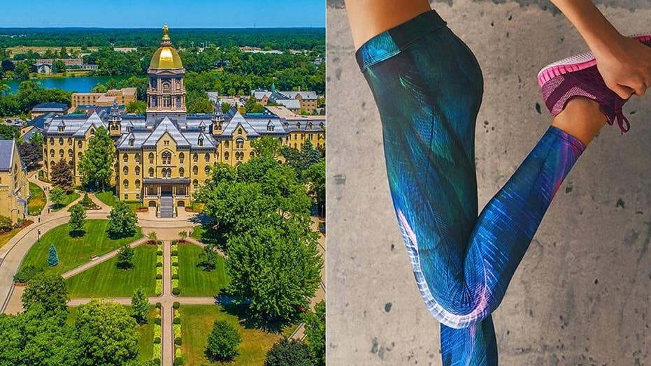 Mom pleads with Notre Dame female students to stop wearing leggings, sparks backlash