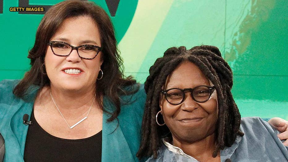 Rosie O'Donnell says Whoopi Goldberg was 'mean' on 'The View' set