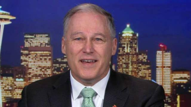2020 hopeful Gov. Jay Inslee challenges President Trump to release his tax returns