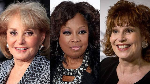 Star Jones claims 'View' co-hosts Barbara Walters and Joy Behar leaked her gastric bypass surgery to the press