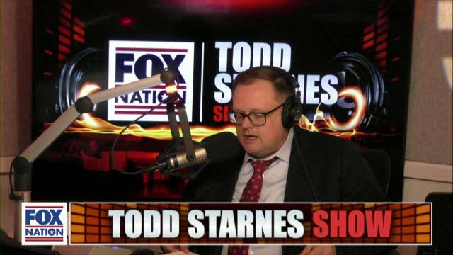 Todd Starnes and Jerry Falwell Jr.